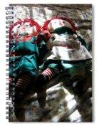 Raggedy Ann And Andy Dolls Casa Grande Arizona 2005 Spiral Notebook