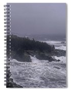 Raging Fury At Quoddy Spiral Notebook