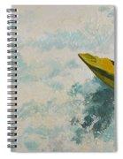 Raging Run Spiral Notebook