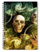 Raging Wars Of Pirates Past Spiral Notebook