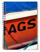Rags Spiral Notebook