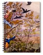 Raiding The Rook's Nest Spiral Notebook