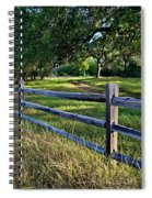 Rail Fence Scenic II Spiral Notebook