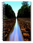 Rail Line Spiral Notebook