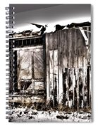 Rail Station Spiral Notebook