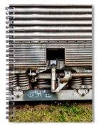 Rail Support Spiral Notebook