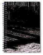 Railing Shadow Spiral Notebook