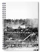 Railroad Bridge, 1858 Spiral Notebook