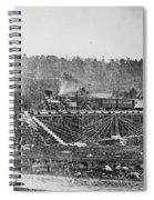 Railroad Bridge, C1860 Spiral Notebook