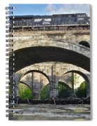 Railroad Bridges Spiral Notebook