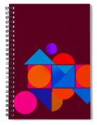 Railroad Spiral Notebook