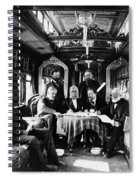 Railroad Directors, C1868 Spiral Notebook