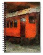 Railroad Gary Flyer Photo Art 03 Spiral Notebook