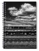 Railroad Gravel Car Spiral Notebook