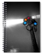 Railroad Signal Spiral Notebook