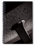 Railroad Spike And Rail Spiral Notebook