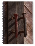 Railroad Spike Handles Spiral Notebook