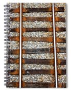Railroad Track With Gravel 2 Spiral Notebook