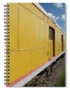 Railroad Train Spiral Notebook