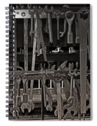 Railroad Wrenches Spiral Notebook