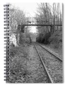Rails Spiral Notebook