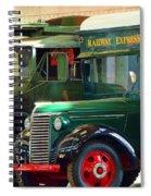 Railway Express Spiral Notebook