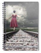Railway Tracks Spiral Notebook