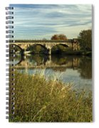 Railway Viaduct At Waterside - Stapenhill Spiral Notebook