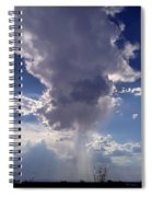 Rain Cloud Spiral Notebook