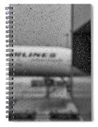 Rain Drops In Tokyo Spiral Notebook