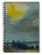 Rain In The Air, 1981 Wc On Paper Spiral Notebook