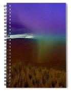 Rain North Of Bonners Ferry Spiral Notebook