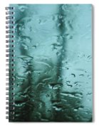 Rain On Bare Trees Spiral Notebook