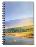 Rain Over Fjords Spiral Notebook
