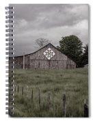 Rain Rolling In Spiral Notebook