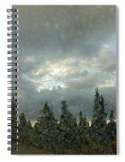 Rain Storm Spiral Notebook