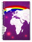 Rainbow's World 20 Spiral Notebook