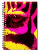 Rainbow Animals - Zebra  Spiral Notebook