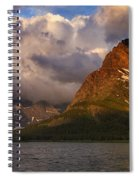 Rainbow At Sunrise - Panorama Spiral Notebook