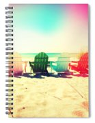 Rainbow Beach I Spiral Notebook
