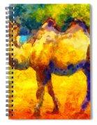 Rainbow Camel Spiral Notebook
