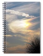 Rainbow Cloud Promises Spiral Notebook