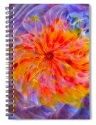 Rainbow Coronal Spiral Notebook