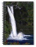 Rainbow Falls Hilo Hawaii Spiral Notebook