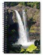 Rainbow Falls IIi Spiral Notebook