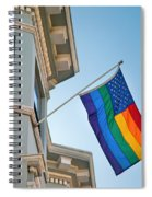 Rainbow Flag Marriage Equality Spiral Notebook