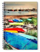 Rainbow Fleet Spiral Notebook