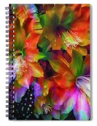 Rainbow Flowers Spiral Notebook