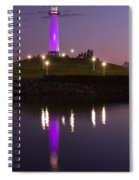 Rainbow Harbor Lighthouse Spiral Notebook