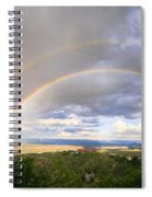 Rainbow In Jerome Spiral Notebook